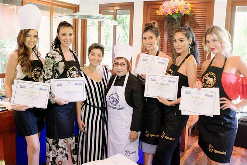 Miss Grand International 2016 beauties take cooking class, enjoy spa session and more