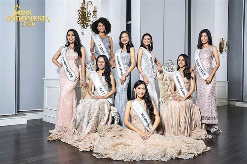 Miss Indonesia 2020 Meet the contestants