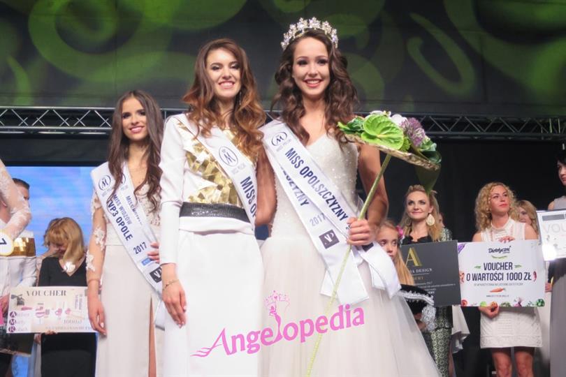 Kamila Swierc crowned Miss Polski 2017 (Miss World Poland 2018)