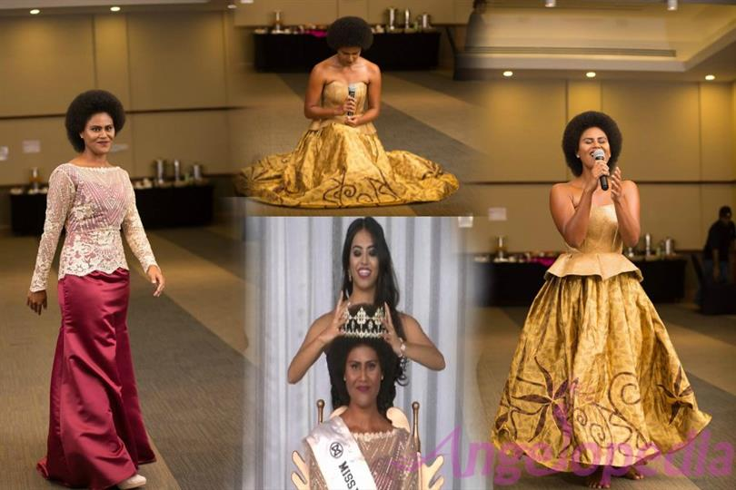 Nanise Rainima crowned as Miss World Fiji 2017