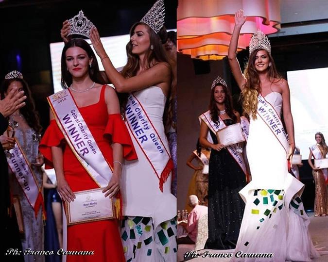 Miss Global Charity Queen 2018 Nikola Hatráková