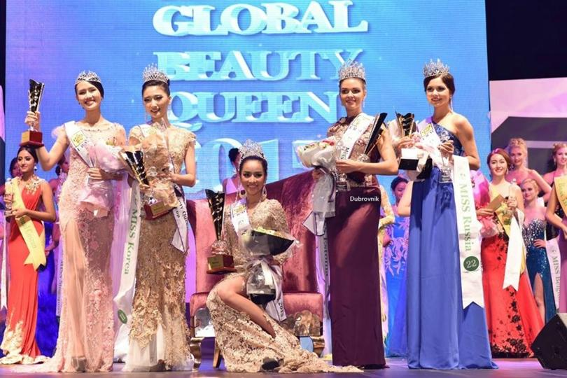Vetaka Petsuk from Thailand crowned Miss Global Beauty Queen 2015