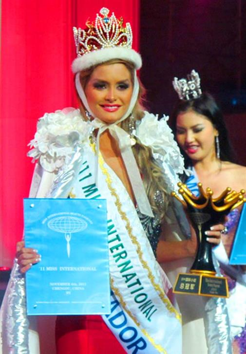 Fernanda Cornejo from Ecuador crowned Miss International 2011