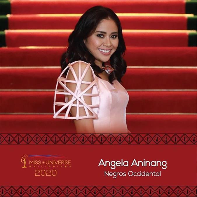 Miss Universe Philippines 2020 Angela Aninang