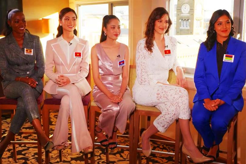 Miss World 2019 delegates excel in Head to Head Challenge (Group 18)