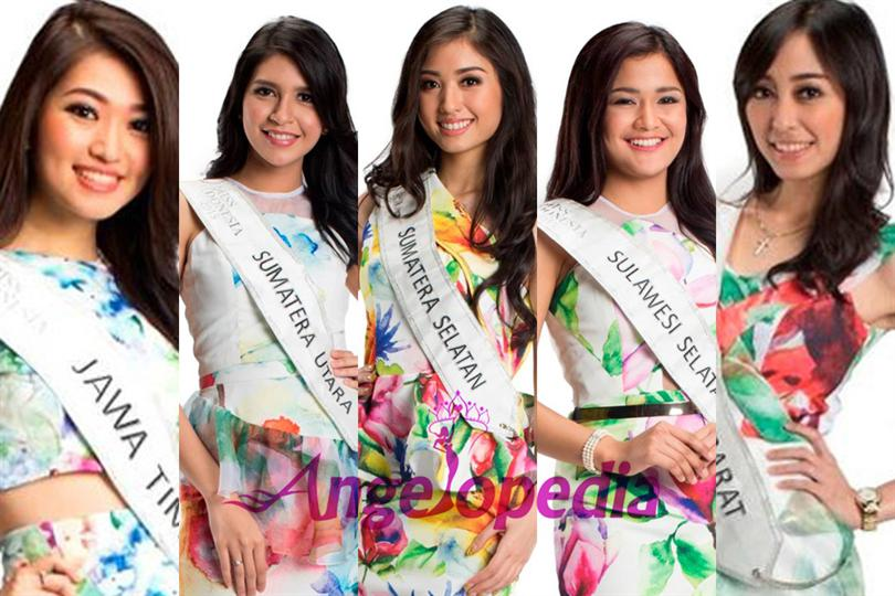 Miss Indonesia 2015, top 15 finalists