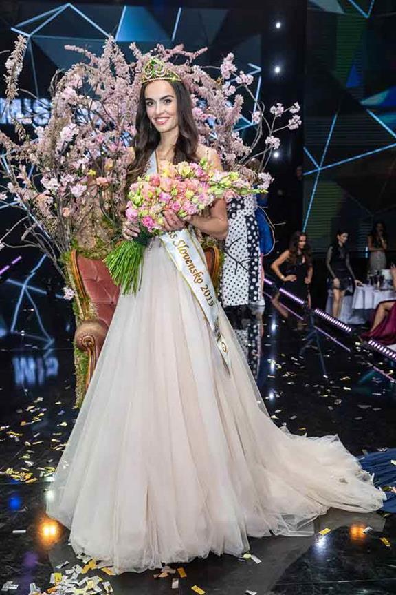 Alica Ondrášová from Unin crowned Miss International Slovakia 2019 for Miss International 2019