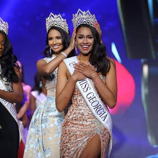 Emanii Davis of Georgia crowned Miss Earth USA 2019