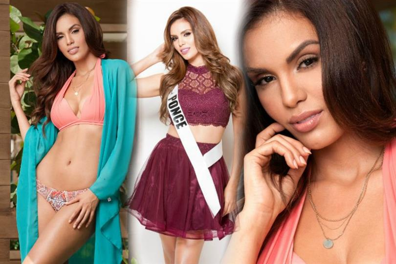Finale Miss Univers 2018 >> This finalist of Miss Universe Puerto Rico 2017 is all over the internet