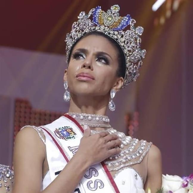 Isabella Rodríguez of Portuguesa crowned Miss Venezuela 2018