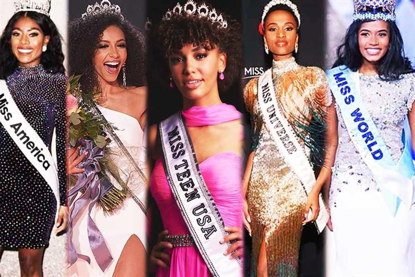 Inspirational lessons from the Top 5 black beauty queens of 2019
