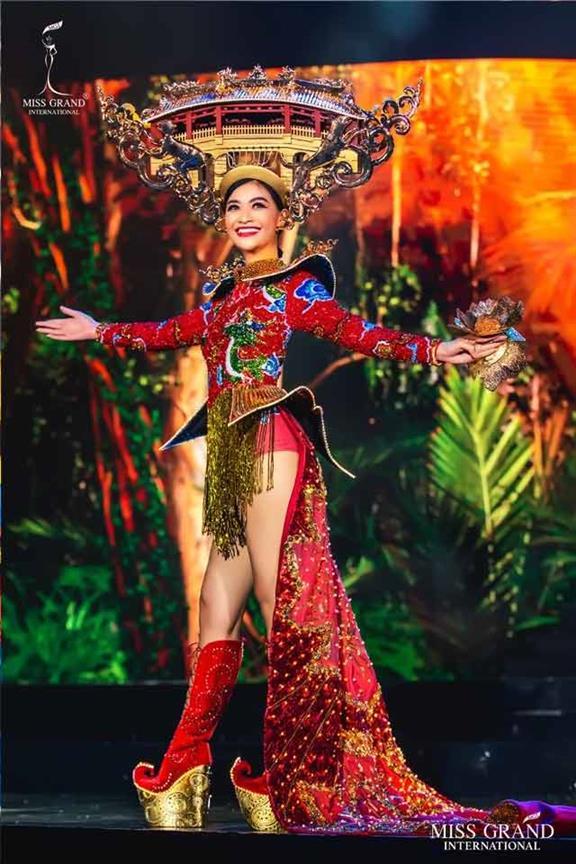 Miss Grand International 2019 Top 10 Best in National Costume Winners