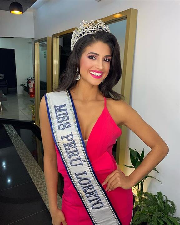 Lucia Arellano Miss Intercontinental Perú 2018, our favourite for Miss Intercontinental 2018