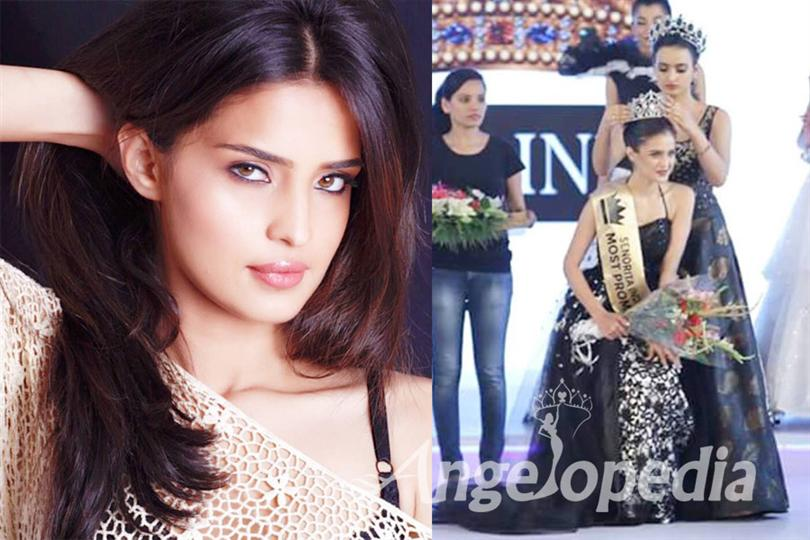 Aarushi Sharma crowned as Miss India Intercontinental 2016