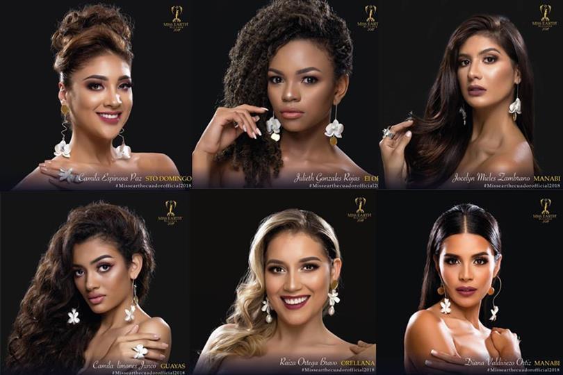 Miss Earth Ecuador 2018 Meet the Contestants