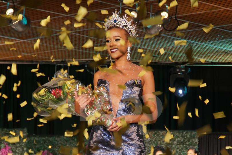 Miss Universe Barbados 2017 Winner Lesley Chapman Andrews
