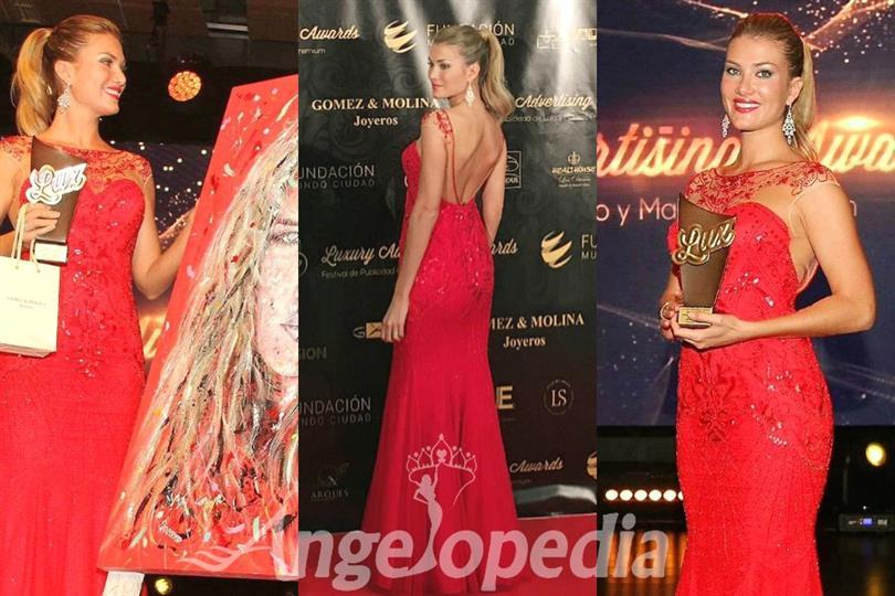 Mireia Lalaguna wins Celebrity Luxury Award 2016
