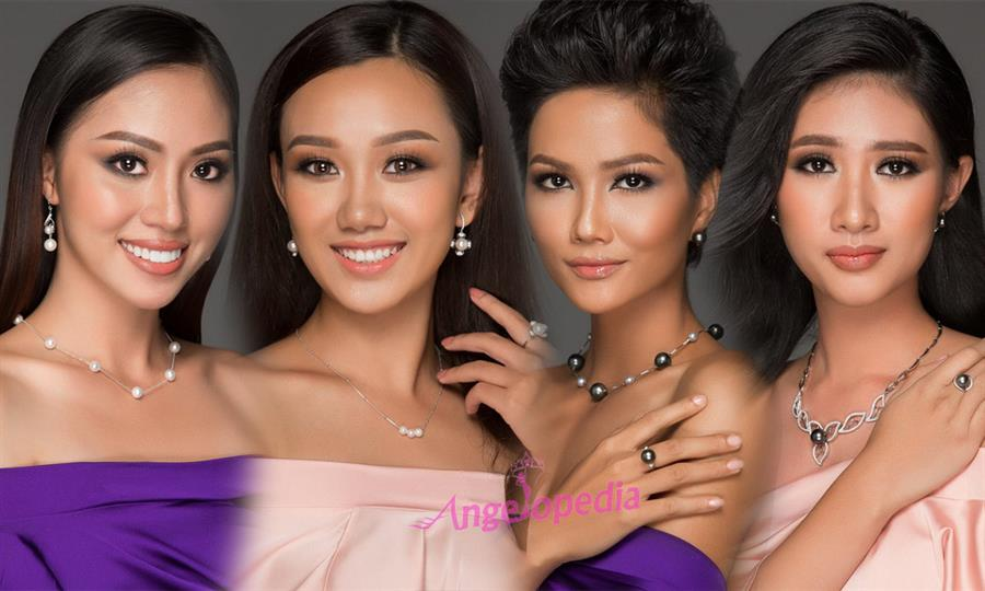 Miss Universe Vietnam 2018 Hot Picks/ Top 20 Favourites