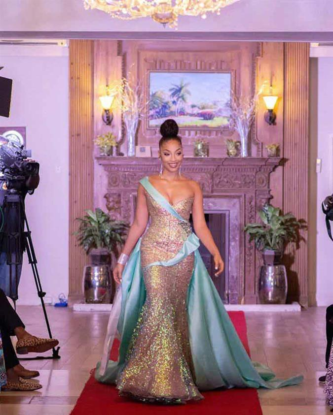 Nyah Bandelier crowned Miss World Bahamas 2019