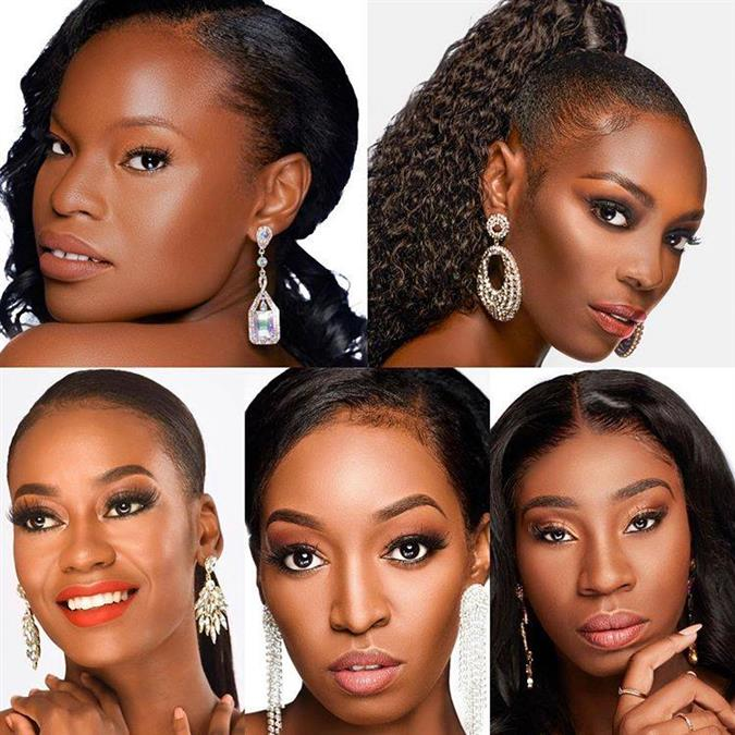 Miss Universe Bahamas 2019 Meet the Contestants