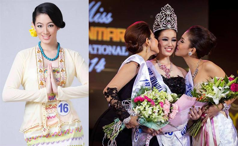 Khin Wai Phyo Han crowned Miss Myanmar International 2014
