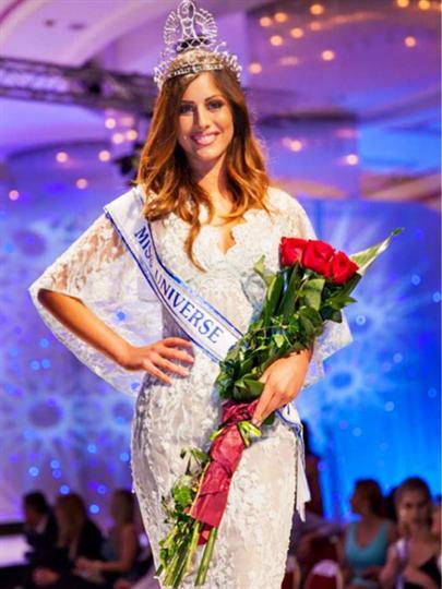 Barbara Ljiljak Miss Universe Croatia 2015
