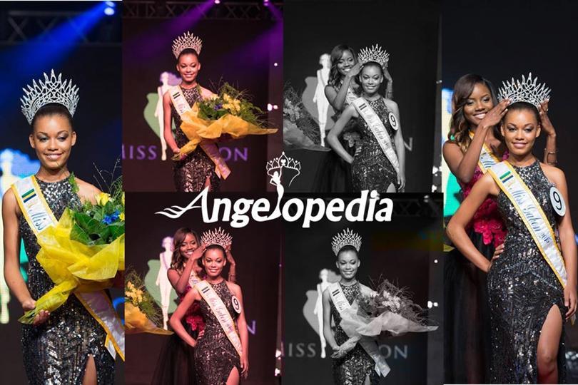 Reina Ngotala crowned Miss Gabon 2015