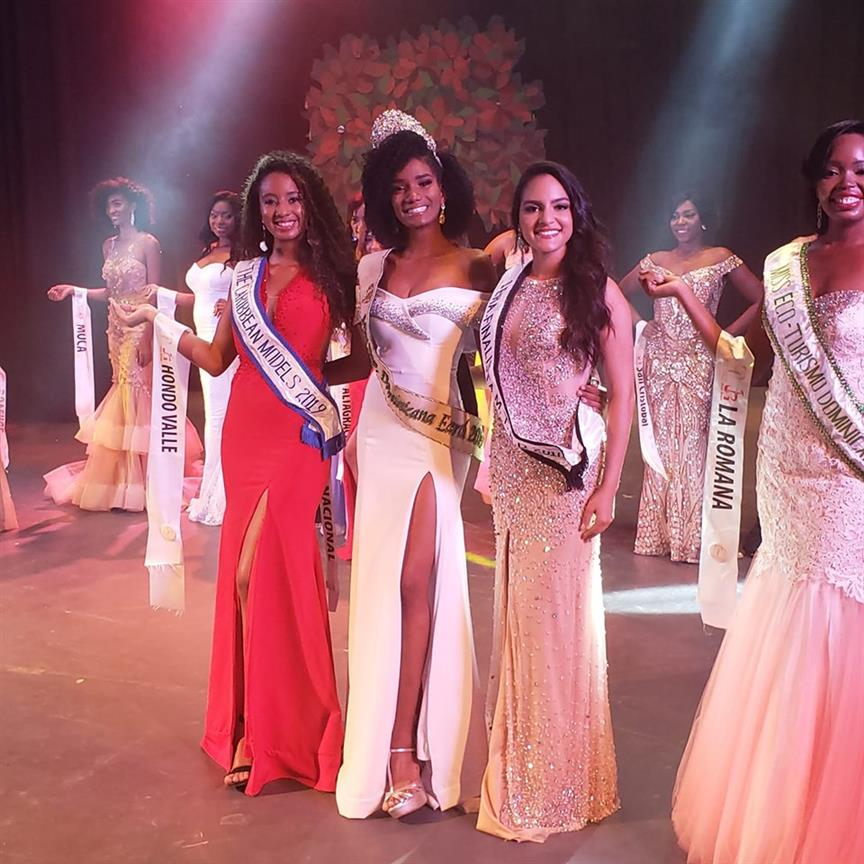 Yasmín Evangelista crowned Miss Earth Dominican Republic 2019