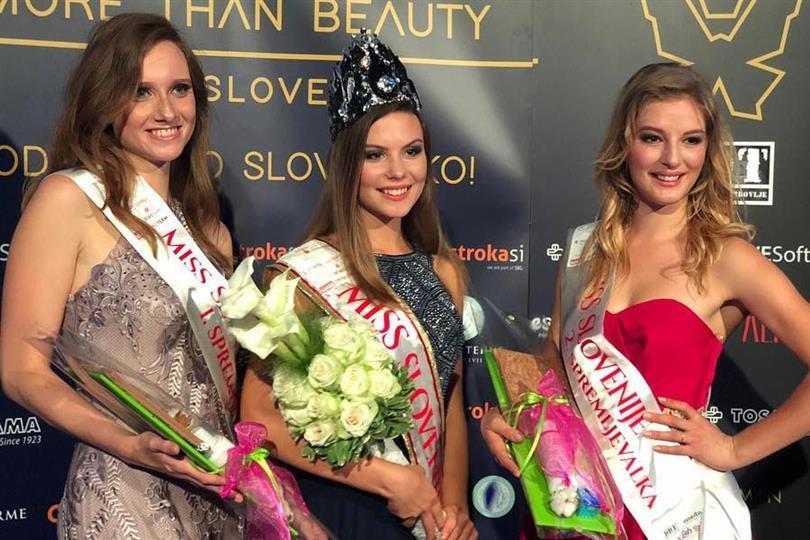 Lara Kalanj crowned Miss World Slovenia 2018