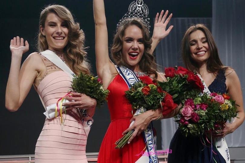 Mia Pojatina crowned Miss Universe Croatia 2018