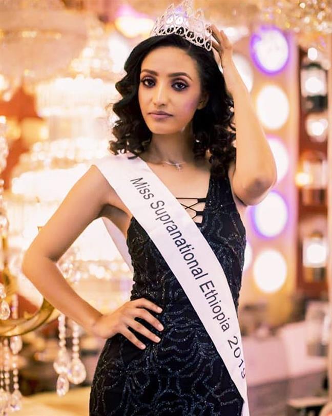 Hanna Abate Elected Miss Supranational Ethiopia 2019