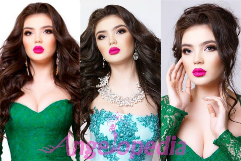 Darina Kulsitova crowned as Miss Universe Kazakhstan 2016