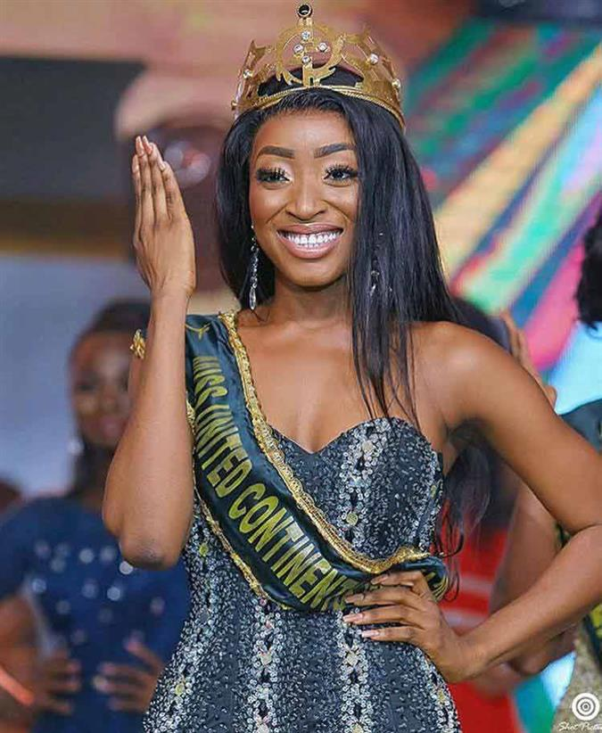 Paciencia Abena is Miss United Continents Ghana 2019