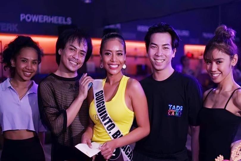 Rowena Sasuluya bags Best Dancer award for Binibining Pilipinas 2020