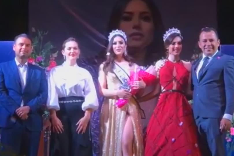 Alejandra Caldera crowned Mexicana Universal Zacatecas 2019 for Mexicana Universal 2020