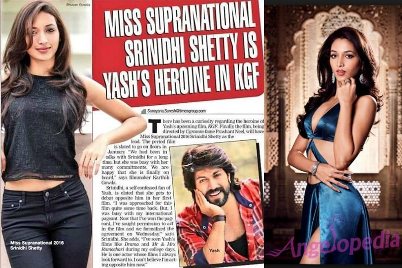Miss Supranational 2016 Srinidhi Shetty to start filming for debut movie soon