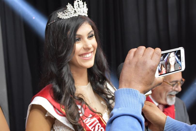 Emna Abdelhedi crowned as Miss Tunisie 2016