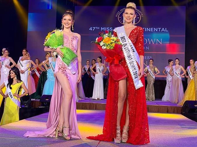 Miss Intercontinental 2018 Special awards and Sponsor awards winners