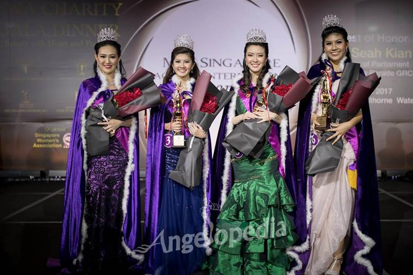 June Oh crowned as Miss Singapore International 2017