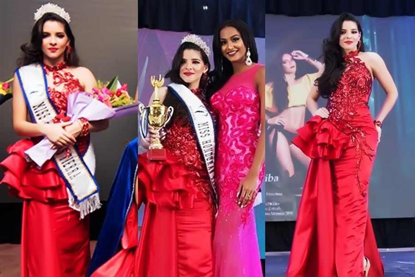 Andrea Nuñez to represent Honduras at Miss Earth 2020