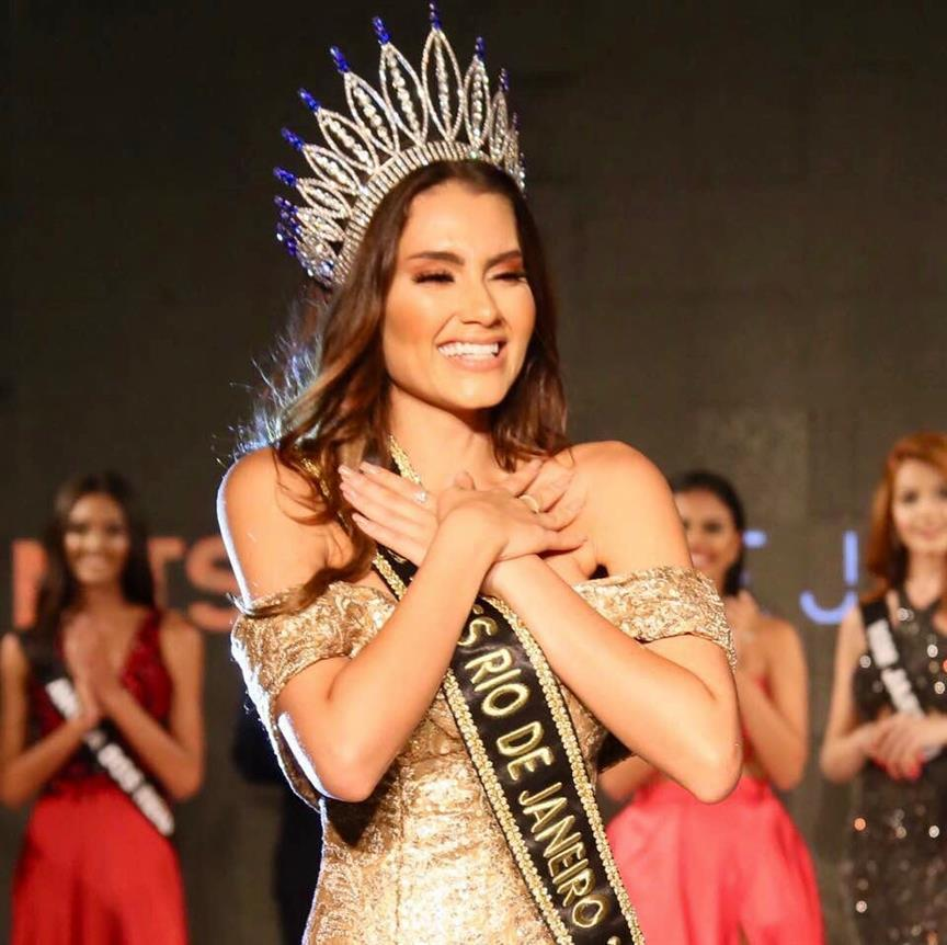 Isadora Meira crowned Miss Rio De Janeiro Be Emotion 2019 for Miss Universe Brazil 2019