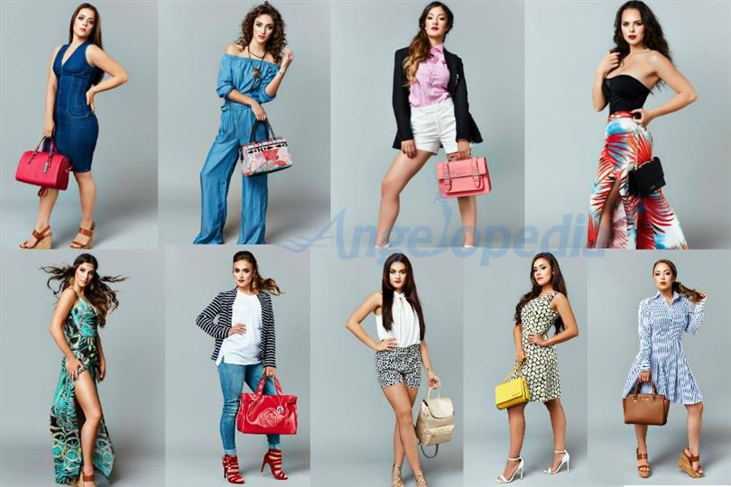Miss Gibraltar 2017 contestants' playful Fashion Shoot