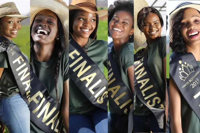 Miss Botswana 2019 Meet the delegates