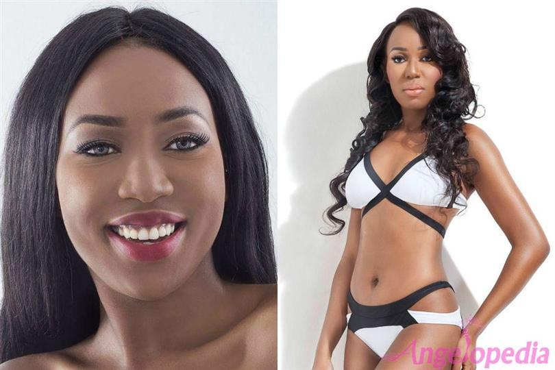 Latoya Moffat finalist Miss World St. Lucia 2016
