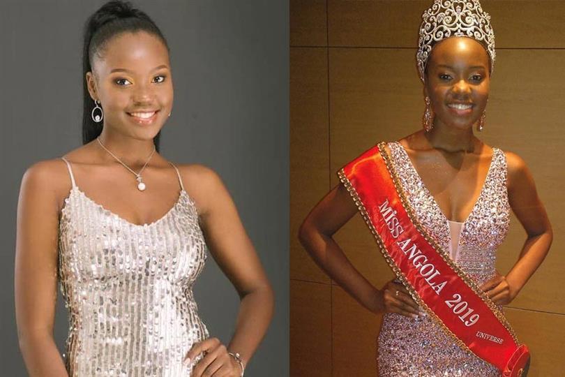 Salett Miguel Miss Angola 2019 Miss Universe Angola 2019