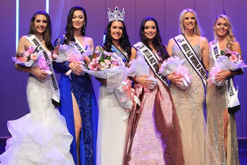 Lucy Brock crowned Miss World New Zealand 2019