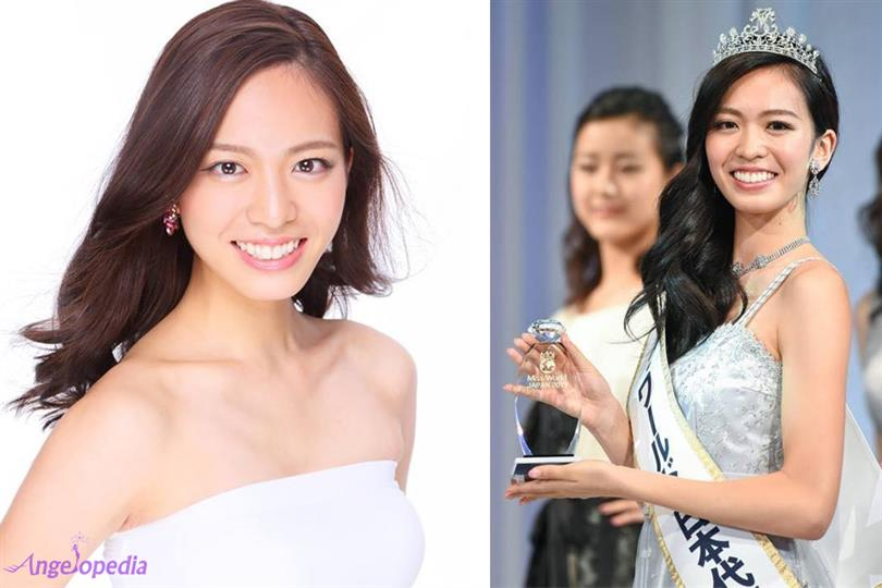 Haruka Yamashita crowned Miss World Japan 2017