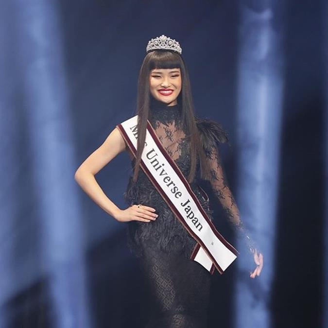 Ako Kamo crowned Miss Universe Japan 2019