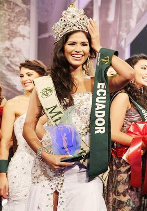 Olga Álava from Ecuador was crowned Miss Earth 2011