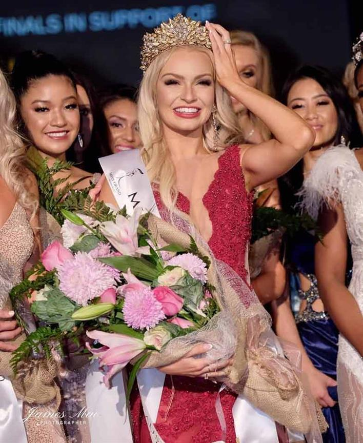 Taylor Marlene Curry crowned Miss Grand Australia 2019